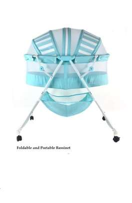 Baby Bassinet foldable and portable image 1