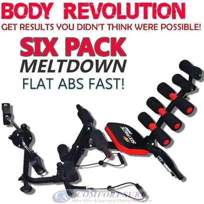 Six pack care/gym machine/exercise machine image 1