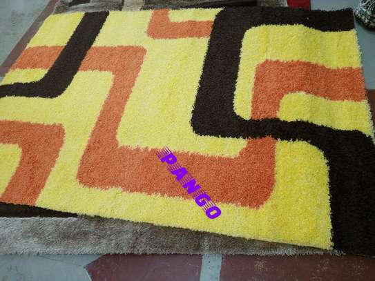 Turkish shaggy carpet image 6