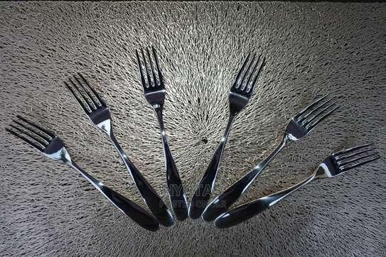 6pcs High Quality Forks image 1