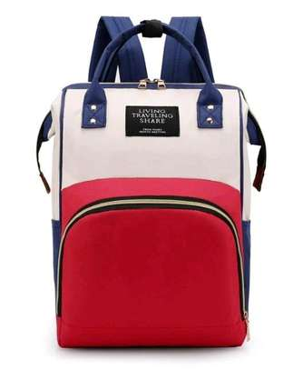 baby bag pack- RED BLUE