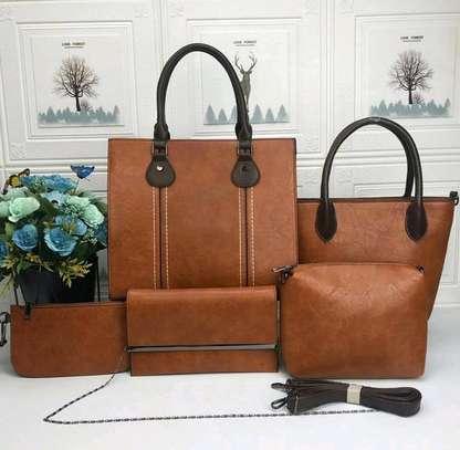 5 in 1 Ladies handbags in fashion image 1