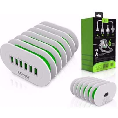 LDNIO A6702 6 USB 5V / 7.0A Quick Charge Desktop Charger image 1