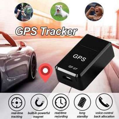 GF-07 Mini Magnetic Car GPS Tracker Locator Real Time Enhanced Tracking Device Anti-Theft Vehicle Car Motorcycle Truck Universal image 1