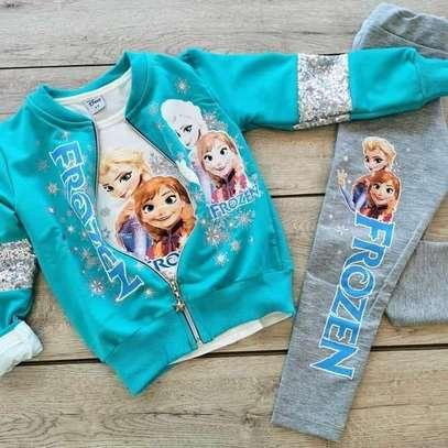 Frozen themed kids set image 1