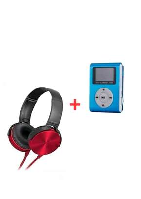 Headphones - Extra Bass Music Headphones With Mp3 Player image 1