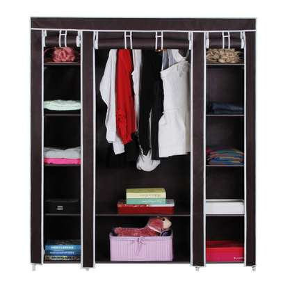 PORTABLE WARDROBES SOLID WOOD image 2