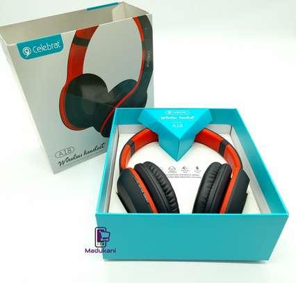 Celebrat A18 Bluetooth v5.0 Lightweight Active Noise Reduction Headphones image 5