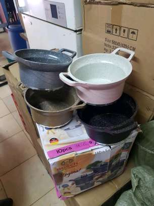 10pcs bosch germany cookware image 1