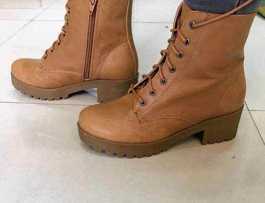 Brown Leather Boots image 1