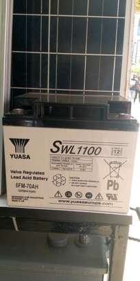Yuasa SWL1100 Lead Acid Battery 6FM70AH image 1