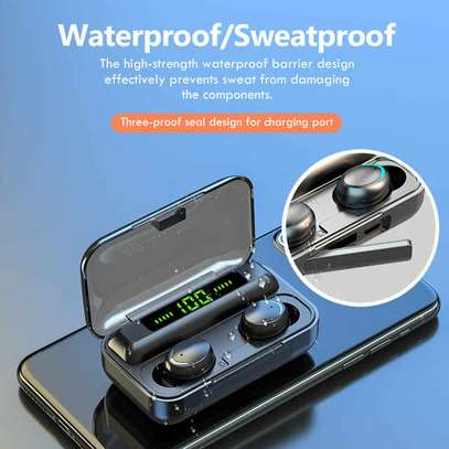 Waterproof Wireless Earbuds With Charging Case for Phones image 6