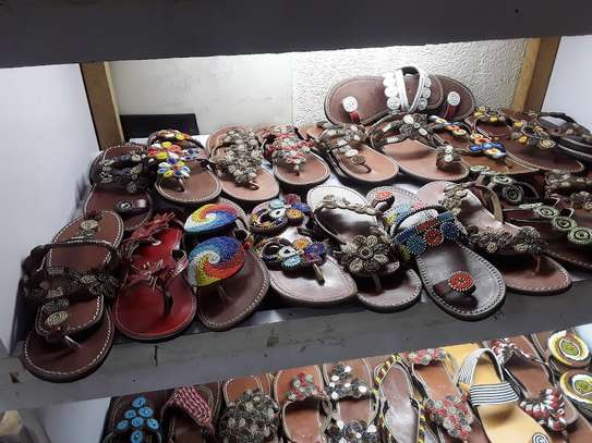 African sandals image 1