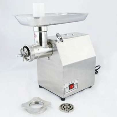 TK12 Stainless Steel Electric Meat Grinder, Commercial, Multifunctional, Grass, Garlic, Meat, Heavy Duty Sausage Maker image 1