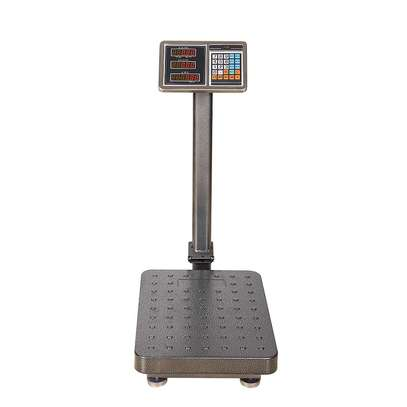 150kg commercial  stainless steel  scales. image 1