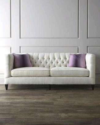 Three seater sofa set designs/sofas kenya/modern sofas and couches/sofa makers in Nairobi Kenya image 1