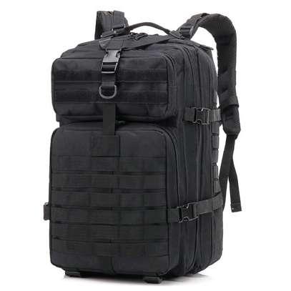 Black quality military combat desert bags image 2