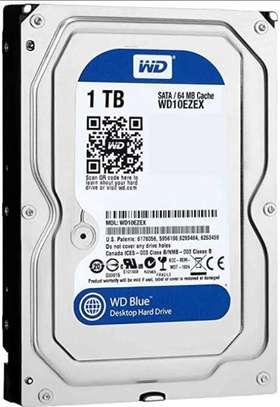 1TB WD Blue PC Hard Drive - 7200 RPM Sata image 1