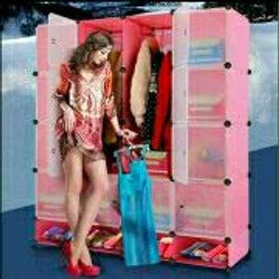 3colum plastic wardrobe image 1