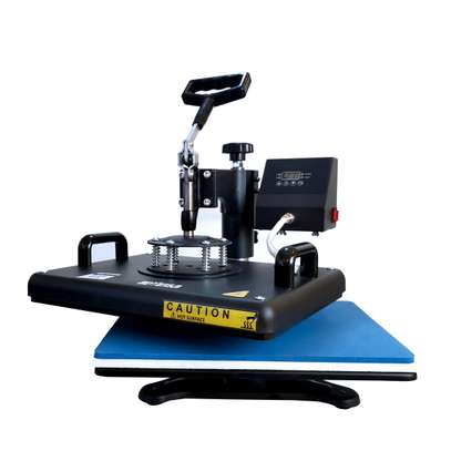 """Combo Heat Press Machine Digital 12x15in"""" for T-shirt Mugs Plate Hats Cup image 5"""