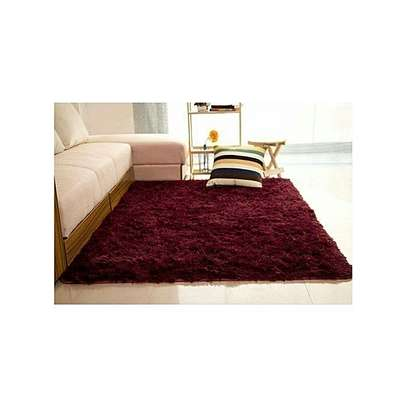 Fluffy Carpets - Soft And Comfortable - maroon