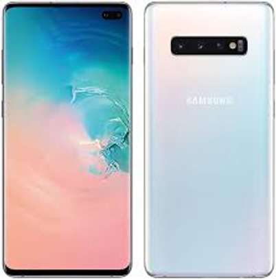 Samsung Galaxy S10 Factory Unlocked Android Cell Phone | US Version | 128GB of Storage | Fingerprint ID and Facial Recognition | Long-Lasting Battery image 1