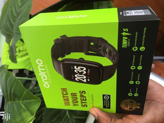 Oraimo Tempo-S IP67 Waterproof Smart Watch with Real-Time Notification, Pedometer/Calorie/Heart Rate Monitor and Activity & Sleep Tracking image 4