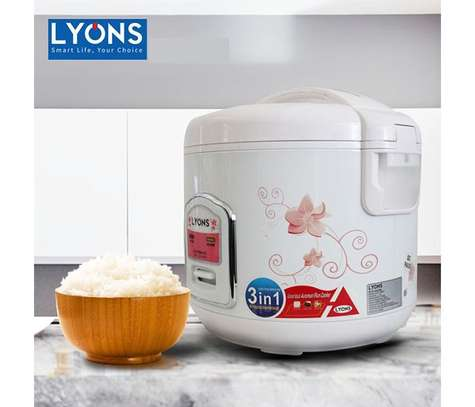 Lyons White (1.8L) Electric Rice Cooker image 1