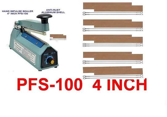 "4"" inch PFS100 Impulse Hand Sealer image 1"