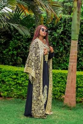 Belted Kaftan Dress & Matching Kimono image 3