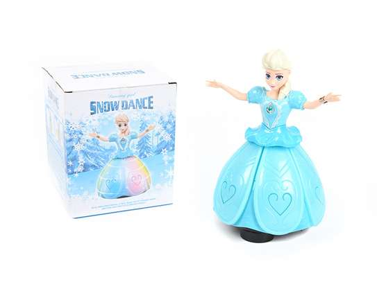 Snow Dance  Princess Light Rotating Toy image 2