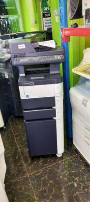Tested kyocera m3040 dn photocopier machine image 2