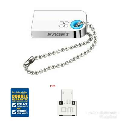 Flash Disk -32GB mini EAGET Free otg metallic tough For Car music