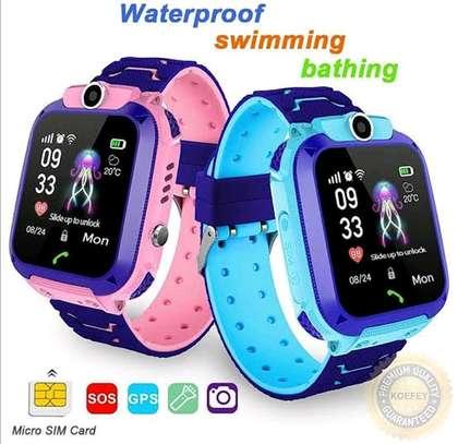 Kids Tracker Smartwatch - Best Emergency Locator and Notifier image 1