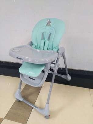 Turqouise Baby Feeding Chair image 1