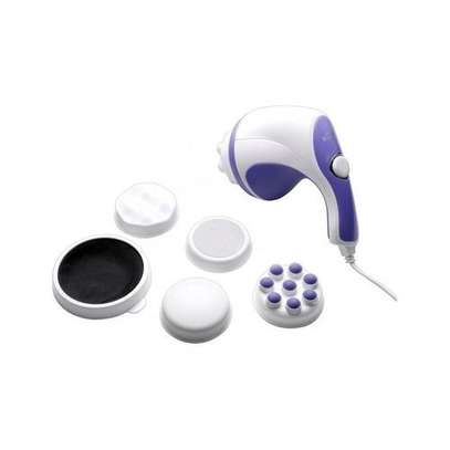 Relax & Tone Full Body Sculptor Massager - Relax & Spin - Tone Slimmer - White & Purple