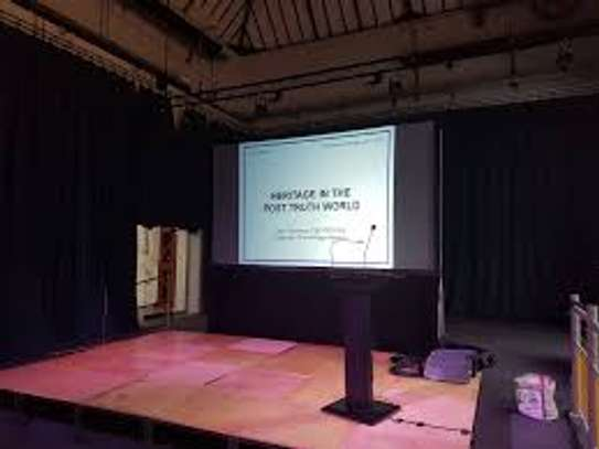 Hire of Projector and Projection Screen
