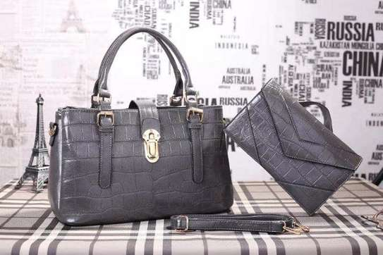2 Piece Leather Handbag Sets. image 6