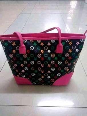 Single Ladies handbag(pink edges) image 1