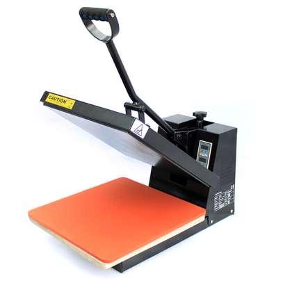 Sublimation Manual Ordinary Flat Heat Press Machine for T-shirt image 2