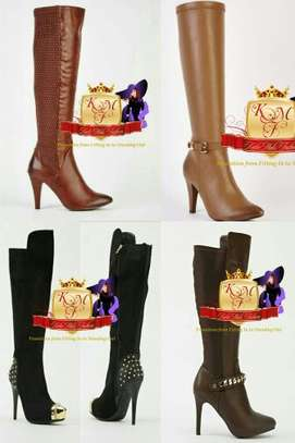 Knee Length Boots Made in U.K image 1