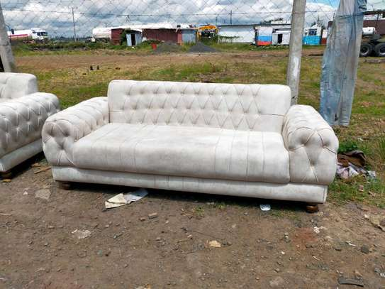 Latest Chesterfield sofas for sale in Nairobi Kenya/Modern three seater sofas/Quality and affordable sofas image 1
