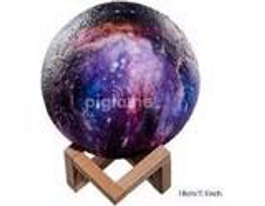 Dimmable 3D Magical Galaxy USB LED Moon Lamp Moonlight Touch Sensor Night Light 3 Color Gift- image 1