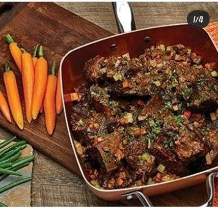 Copper chefs pan image 3