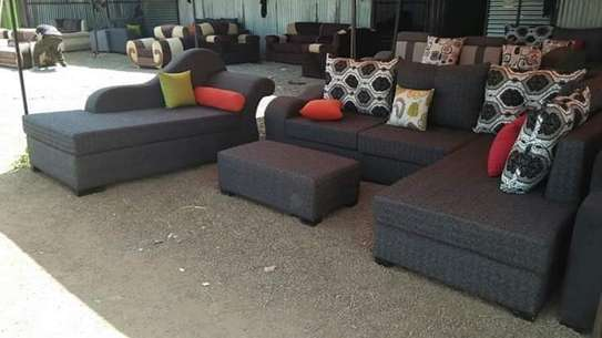 Six seater L shape + sofabed