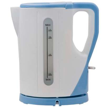 RAMTONS CORDLESS ELECTRIC KETTLE 1.7 LITERS WHITE AND BLUE- RM/325