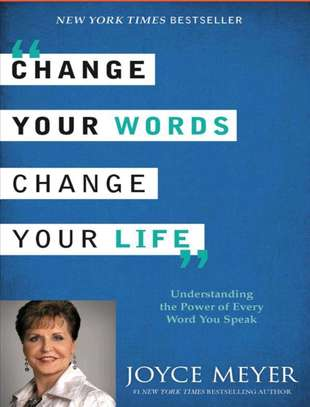 Change your words, change your life. image 1