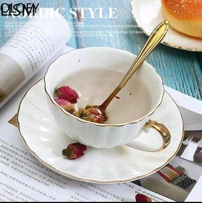 Ceramic coffee set image 4