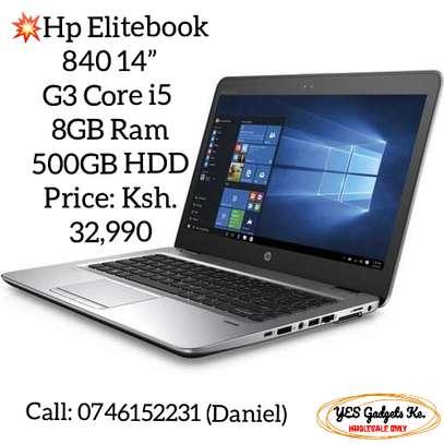 "Hp Elitebook 840 14"" G3 Core i5  8GB Ram 500GB HDD image 1"