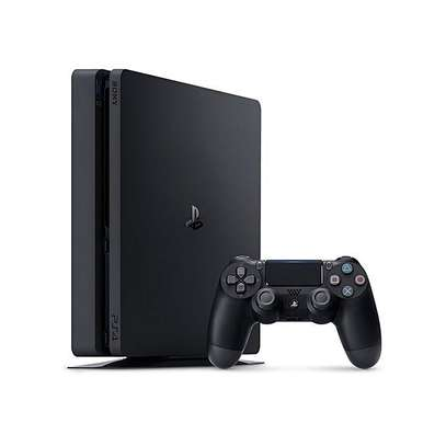 Sony PS4 500gb slim with one pad image 1